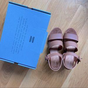 Toms Grace Vegan Leather Sandals